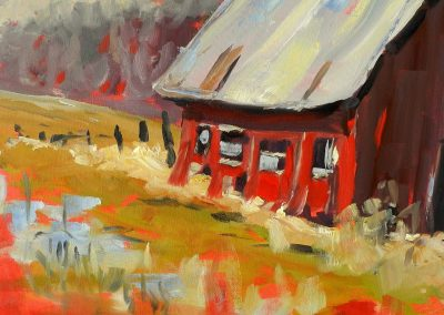 Murray Van Halem _Red Shed