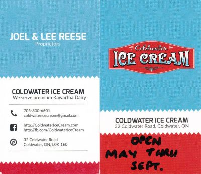 Sponsor_Coldwater Ice Cream store 2018