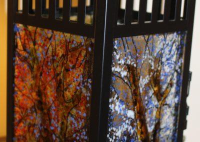 Kathleen Rodgers - Four Season Lantern - Fall Winter