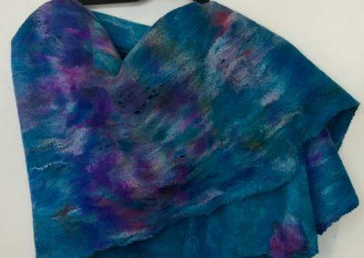 Louise Gervais_blue shawl
