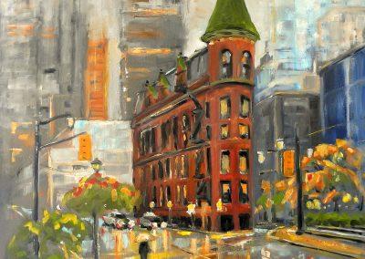 Murray Van Halem _Flatiron Building in Rain I