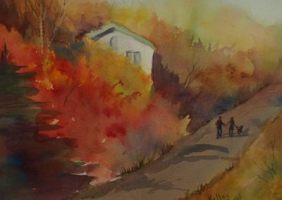Kelley Hampel_Autumn Stroll