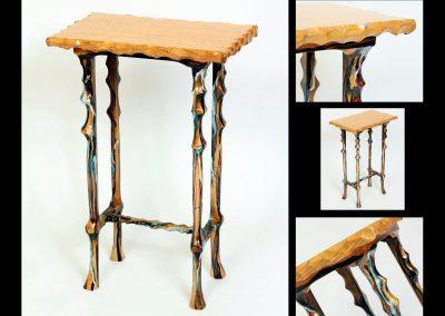 D SYMES BIRDSEYE TABLE