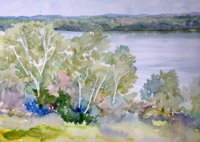 MacPherson After the Rain Watercolour 15 x 22