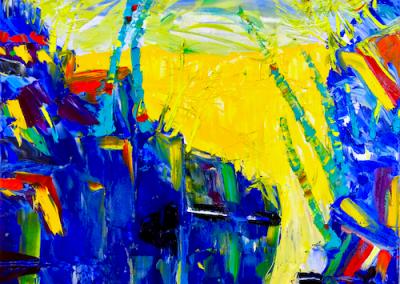 Slater, Hilary. Blue Canyon Oil 16x24