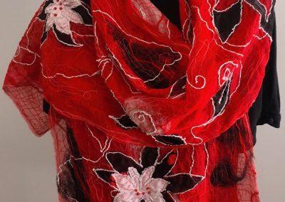 red thread scarf